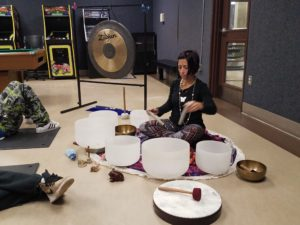 Sound Healing with Crystal Bowls